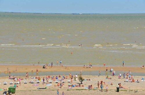 Пляжи для отдыха в Ейске