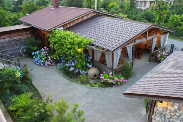 Отель Алаку в Бабышира (Абхазия)