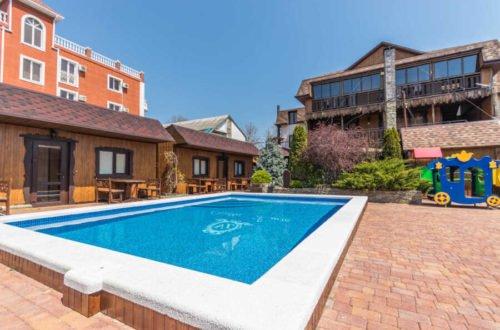 Отдых в Архипо-Осиповке с бассейном