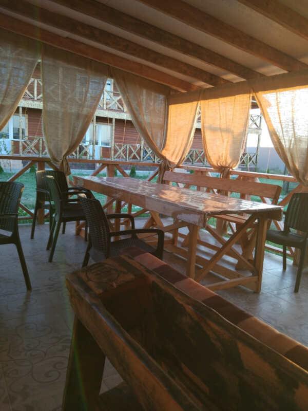ЭКО-отель Миланд в Береговом (Феодосия)